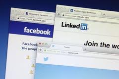 Sociaal Voorzien van een netwerk Royalty-vrije Stock Afbeelding