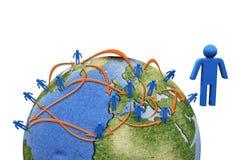 social глобальной вычислительной сети бесплатная иллюстрация