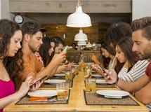 Social но социальное стоковое изображение rf