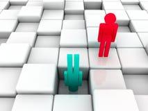 social неравноправности Стоковая Фотография RF