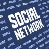 social сети ключевых слов предпосылки бесплатная иллюстрация
