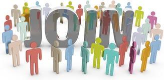 Соедините social людей члена или место дела Стоковые Изображения RF