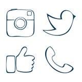 social stock de ilustración