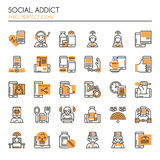 Social Addict Stock Images