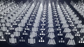 Social animering 4K för nätverksanslutning