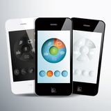 Social Application Stock Photo