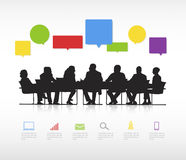 Social Business Gathering Vector Stock Images