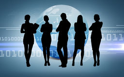 Social or business network stock image