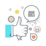 Social campaign concept Stock Image