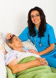 Social Care at Home Royalty Free Stock Images