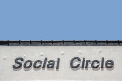 Social Circle Royalty Free Stock Photography