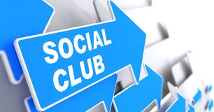 Social Club. Royalty Free Stock Image