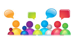 Social Communication Stock Images
