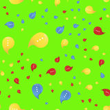 Social communication and chat icon. Vector seamless pattern flat illustration EPS 10. Royalty Free Stock Photography