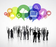 Social Communication Vector Stock Images