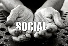 Social concept Royalty Free Stock Photography
