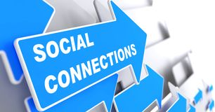 Social Connections. Stock Photography