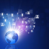 Social Connections Stock Images