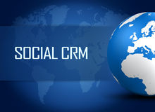 Social CRM Royalty Free Stock Image
