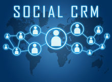 Social CRM Royalty Free Stock Photos
