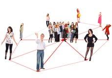 social de réseau Images stock