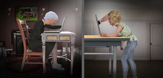 Social Distancing, Media, Internet, Skype, Facebook, Zoom