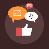 Social Engagement Royalty Free Stock Images