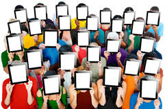 Social Gathering Digital Tablet Communication Society Concept Royalty Free Stock Photography