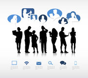 Social Gathering Vector. The vector of Social Gathering vector illustration
