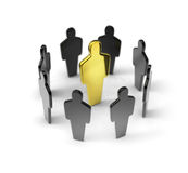 Social group Royalty Free Stock Image