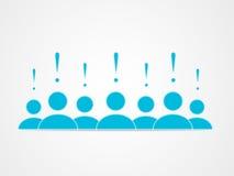 Social grupp Arkivfoton