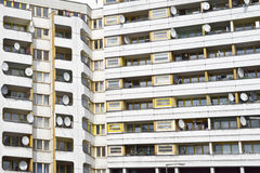 Social housing Berlin Stock Photography