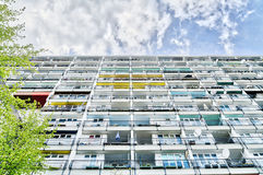 Social housing in Berlin Stock Photography