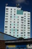 Social housing, kingston upon hull. Residential tower block, social housing, Bransholme, kingston upon hull Stock Photos