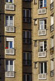 social housing   in  Paris 13 st district Royalty Free Stock Photography
