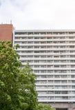 Social housing skyscraper. In Berlin Mitte Royalty Free Stock Image