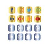 Social Icon Design -use Ai royalty free illustration