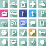 Social icon Stock Images