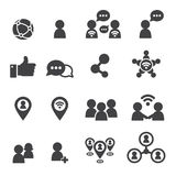 Social icon stock illustration