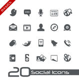 Social Icons // Basics Stock Photography