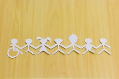 Free Social Inclusion. All United By A Single Cause. Royalty Free Stock Photo - 105324645