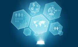 Social info background concept. Technology social info  Internet  Concepts Stock Photo