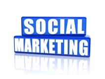 Social marketing Royalty Free Stock Photos