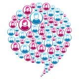 Social marketing campaign Royalty Free Stock Photo