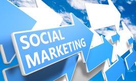 Social Marketing Stock Photo