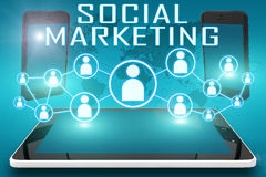 Social Marketing Royalty Free Stock Images
