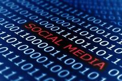 Social media. Close up of Social media concept royalty free stock images