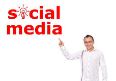 Social media Royalty Free Stock Image