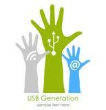 Social media. Internet generation, social media concept Stock Photos