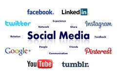 Free Social Media Royalty Free Stock Image - 44923216